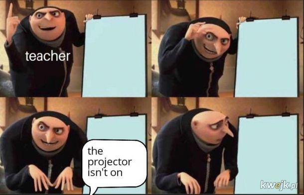 Projektor.