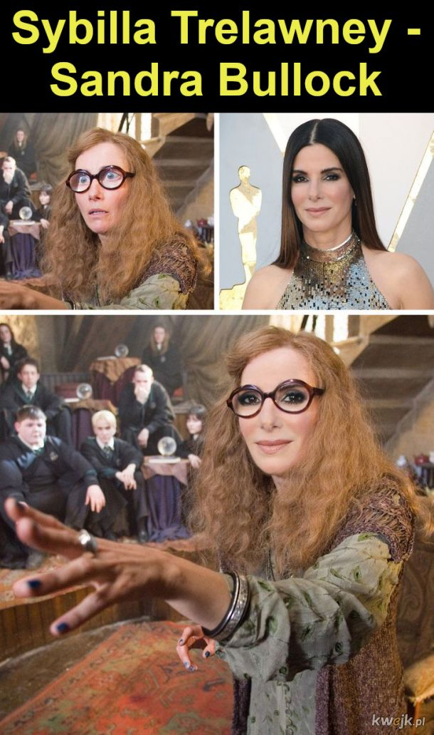 """Jak wyglądaliby bohaterowie """"Harry'ego Pottera"""", gdyby film był kręcony w Hollywood, obrazek 8"""