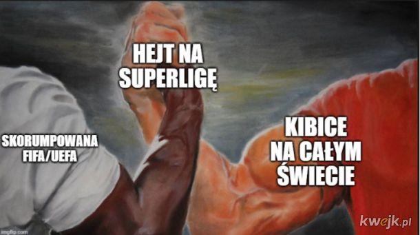 Hejt na Superligę