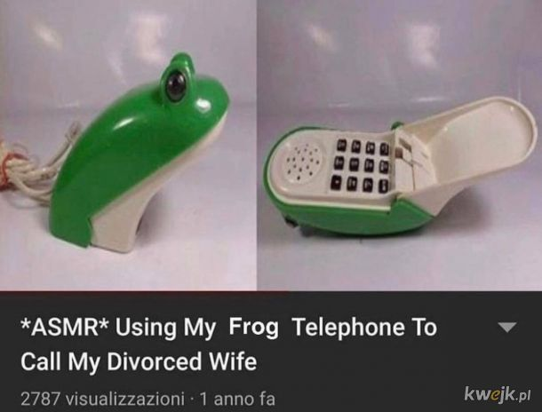 Telefon żabka