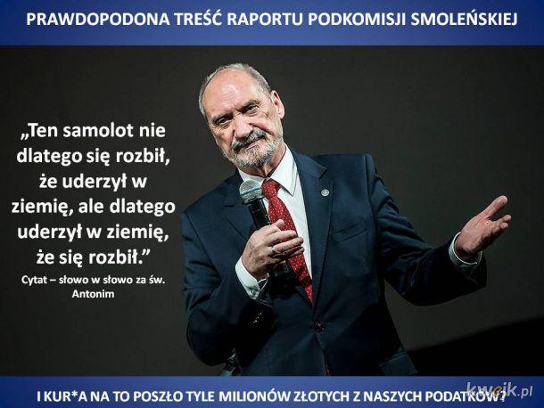 Do końca kwietnia mamy poznać prawdę, którą od tylu lat zwiastuje Kaczyński
