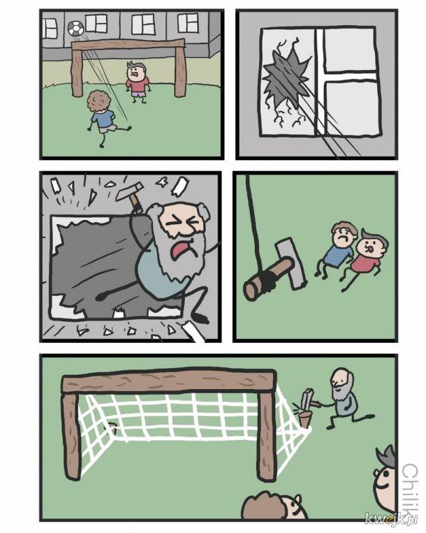 Zakaz gry w piłkę?