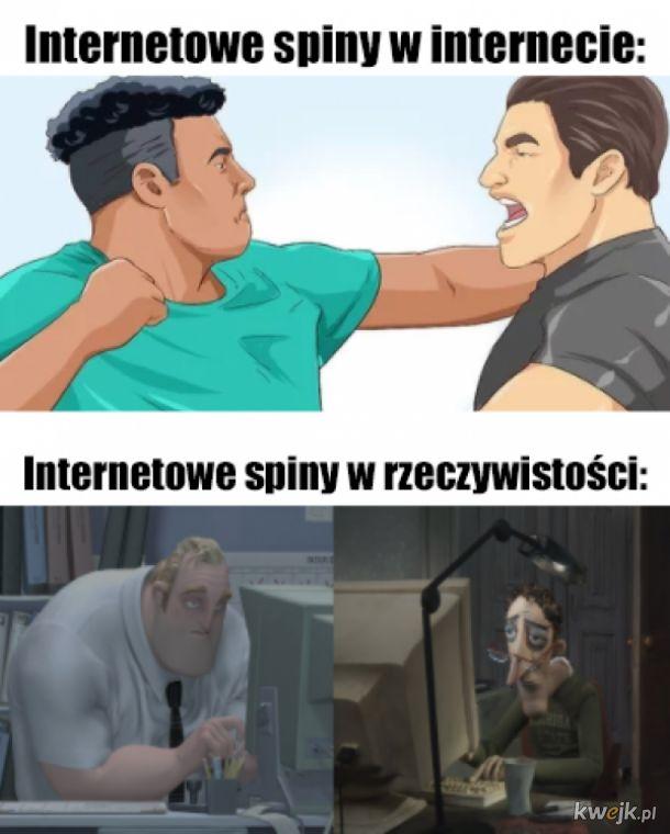 Internetowe spiny