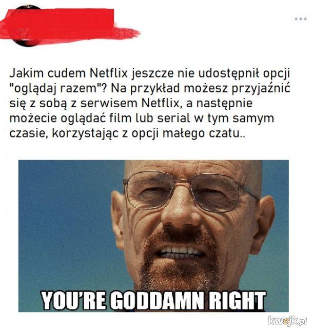 Pomysł dla Netflixa