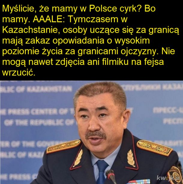Kazachstan jak polska za rok