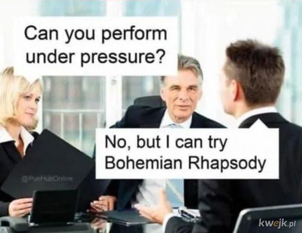 Na rozmowie o pracę w korpo