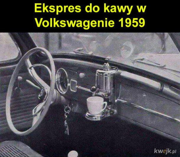 Ekspres w samochodzie