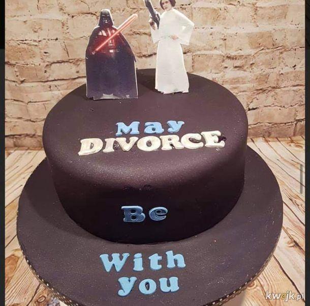 Torty rozwodowe, czyli słodki koniec kwaśnego związku