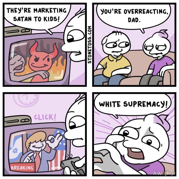 O nie, to literalnie Hitler!