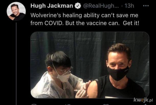 Nawet X-Meni się szczepią
