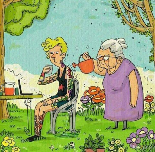Babcia o wszystko zadba
