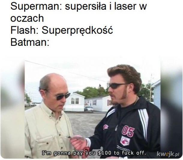 Batman ma najlepszą super moc
