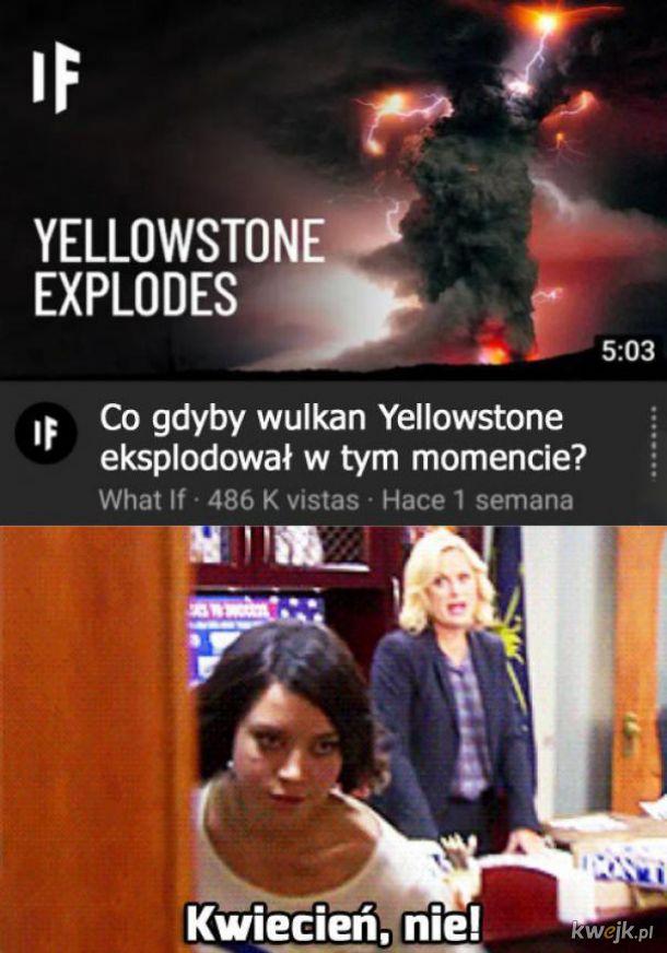 Wulkan Yellowstone