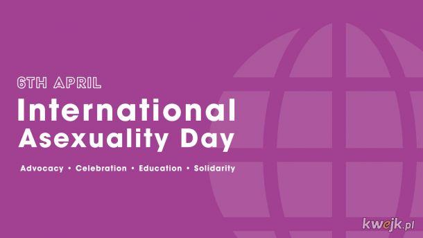 Międzynarodowy dzień osób aseksualnych.