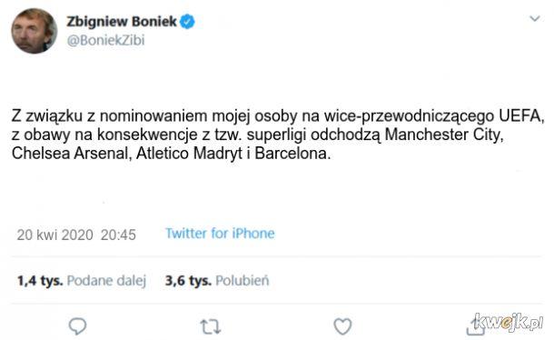 Boniek zniszczył Superligę
