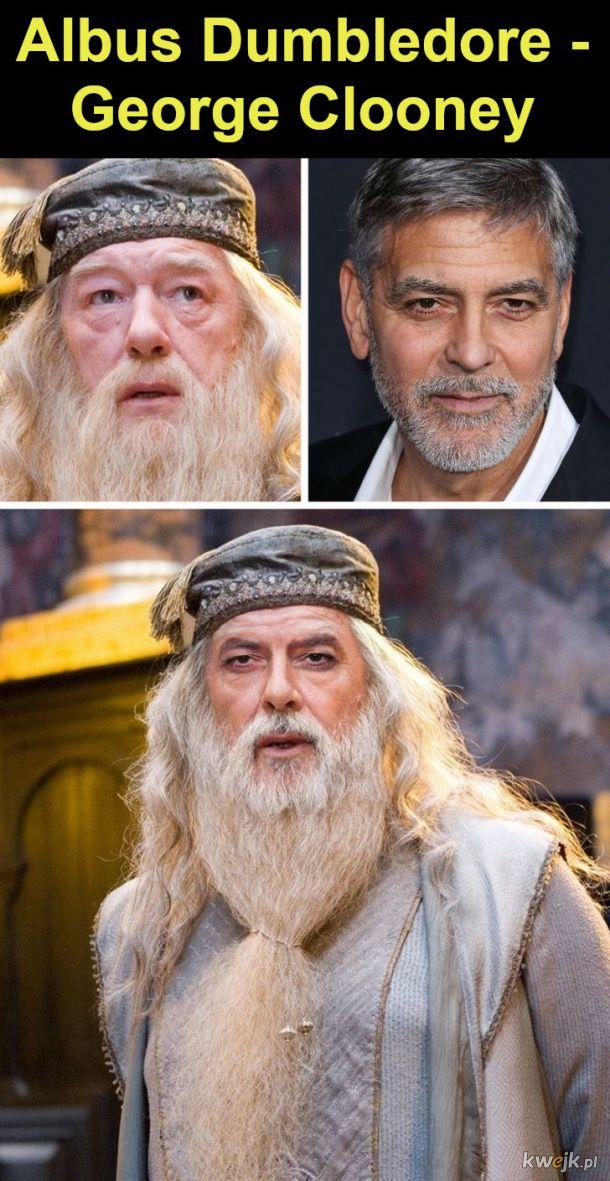 """Jak wyglądaliby bohaterowie """"Harry'ego Pottera"""", gdyby film był kręcony w Hollywood, obrazek 7"""