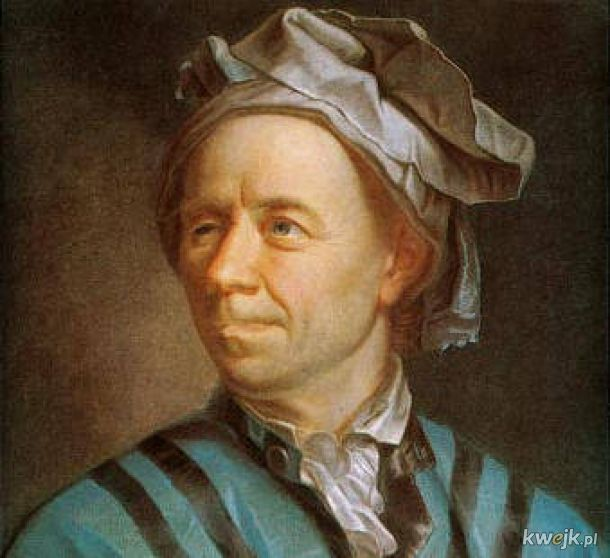 Dziś mamy 314. rocznicę urodzin Leonharda Eulera