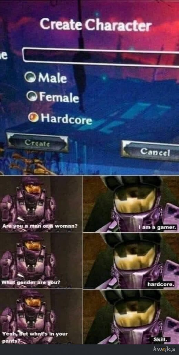 What gender are you?