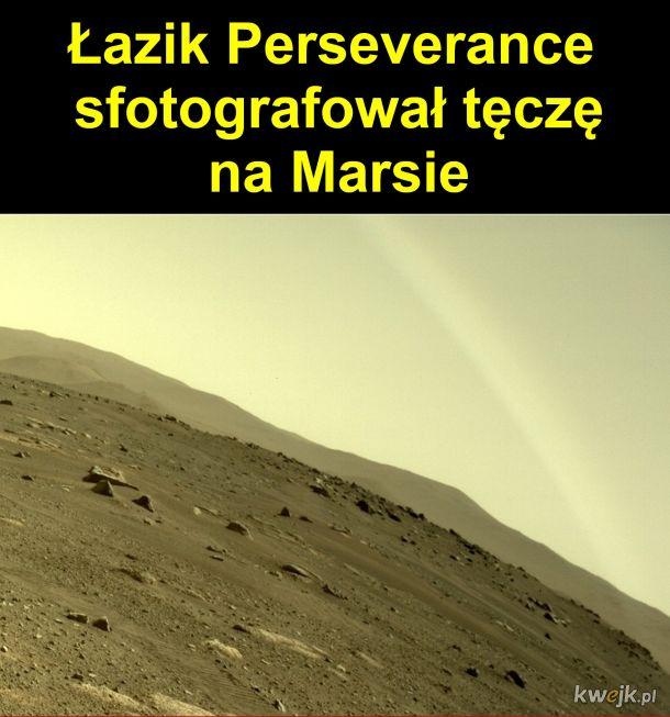 Tęcza na Marsie