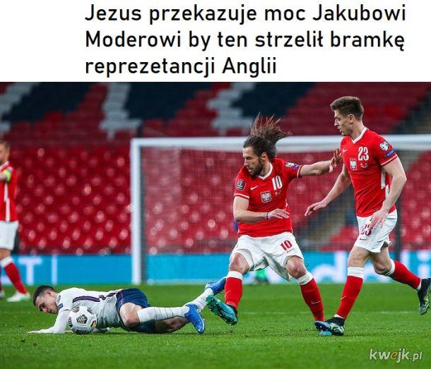 Jezus pomaga reprezentacji Polski