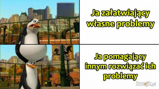 Własne problemy