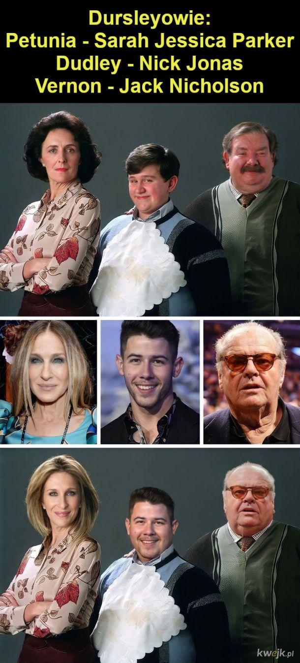 """Jak wyglądaliby bohaterowie """"Harry'ego Pottera"""", gdyby film był kręcony w Hollywood, obrazek 19"""