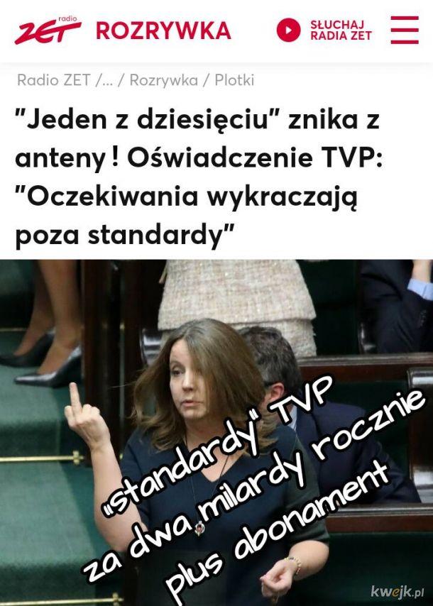 Dla najlepszego merytorycznie teleturnieju nie ma miejsca w odmóżdżonej telewizji. Dziękujemy panie Tadeuszu za te wszystkie lata!