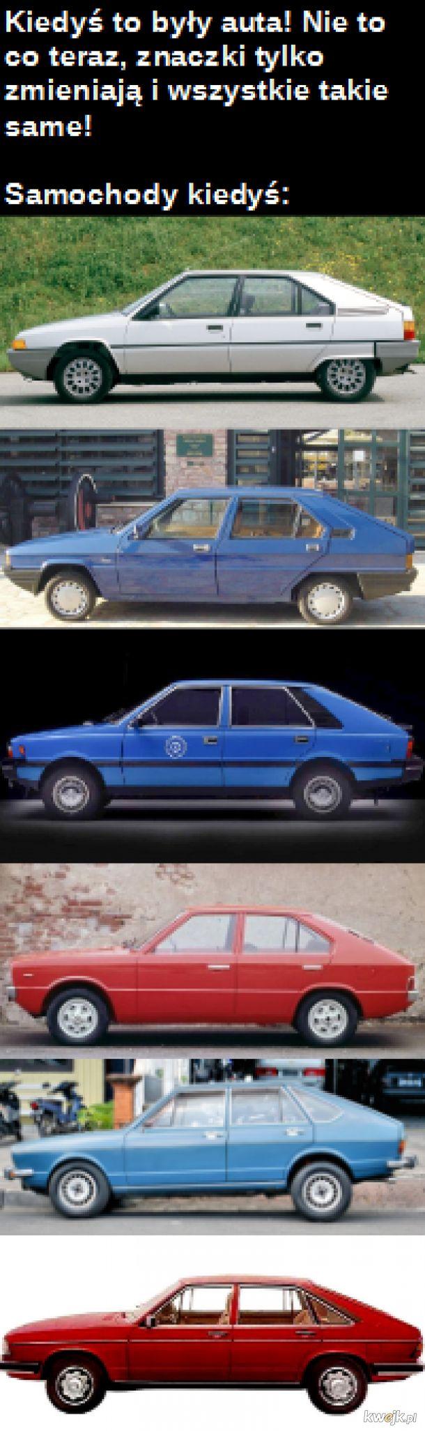 Kiedyś to były auta!