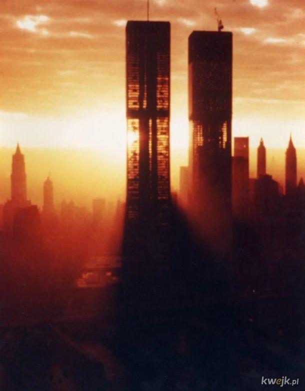 WTC przed ukonczeniem, cca 1970