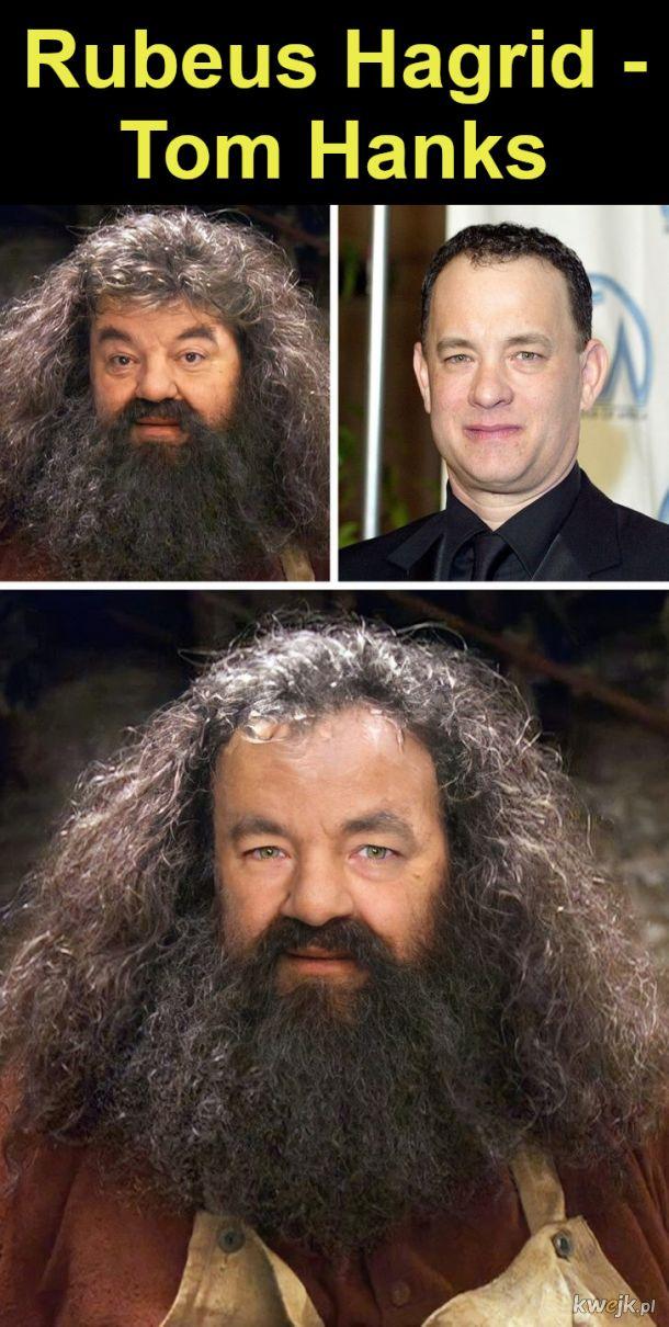 """Jak wyglądaliby bohaterowie """"Harry'ego Pottera"""", gdyby film był kręcony w Hollywood, obrazek 11"""