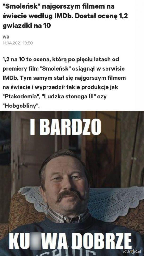 Smoleńsk najgorszym filmem