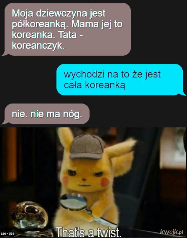 Koleżanka pół Koreanka