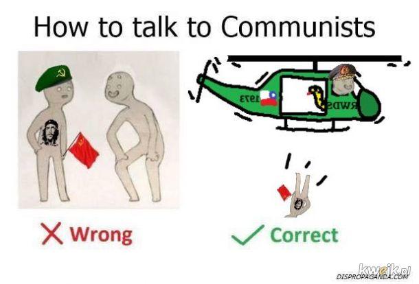 Jak rozmawiać z komuchami