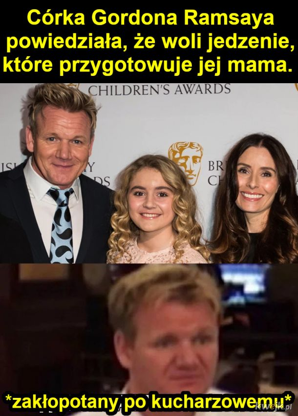 Córka Gordona Ramsaya