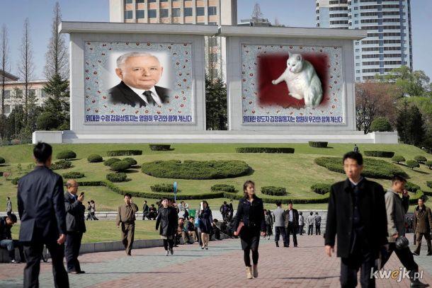 Nasz ukochany prezes i jego syn Taka nasza Korea Północna cebulą pachnąca