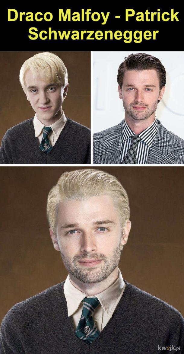 """Jak wyglądaliby bohaterowie """"Harry'ego Pottera"""", gdyby film był kręcony w Hollywood, obrazek 5"""