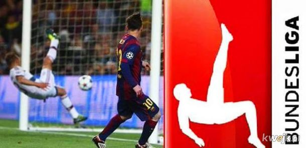 Co ma messi do bundesligi