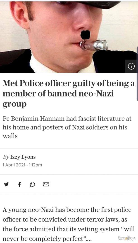 Faszysci przenikaja do policji