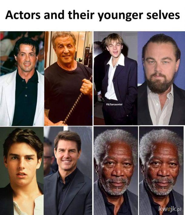 Jak wyglądali za młodu