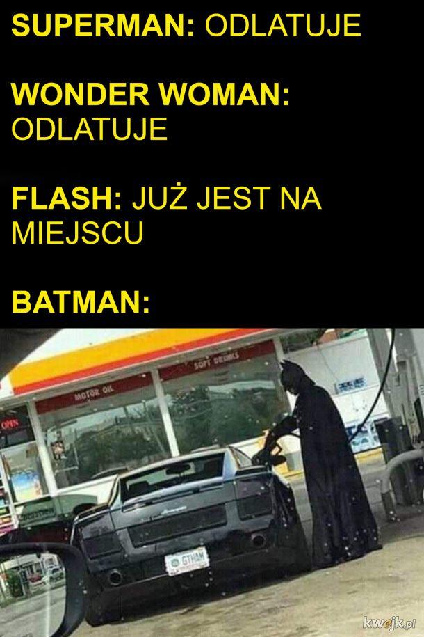 Batman i jego autko