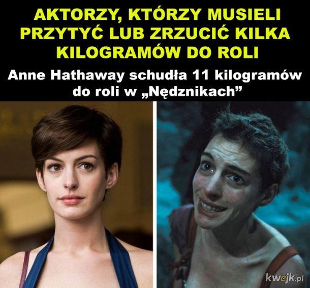 Aktorzy, którzy zmienili swój wygląd dla roli