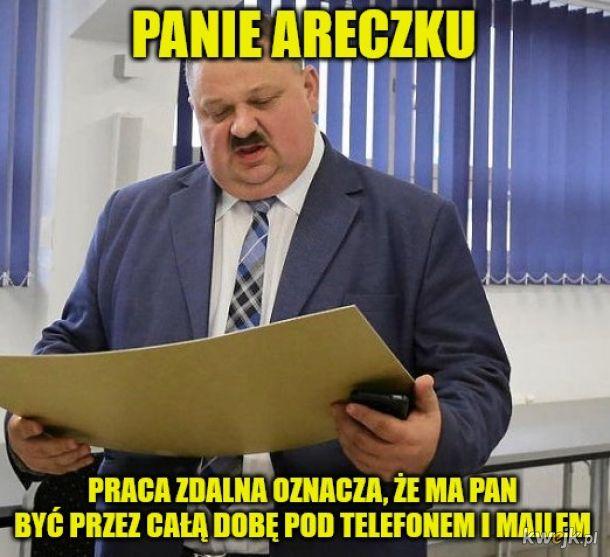 Typowa polska praca zdalna