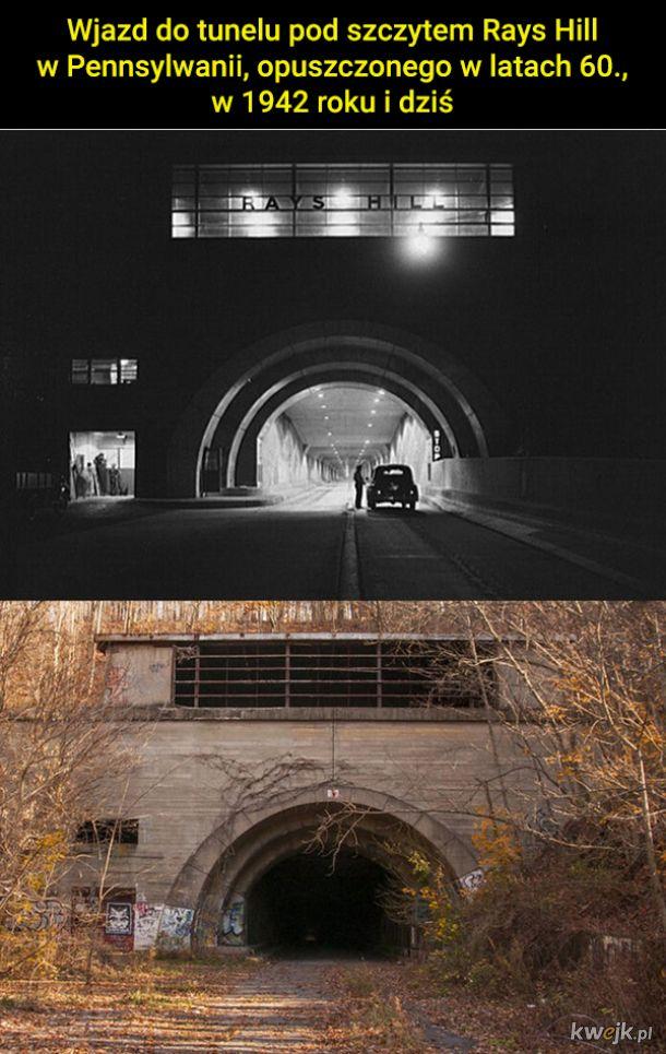 Kiedyś i dziś, czyli zdjęcia pokazujące upływ czasu