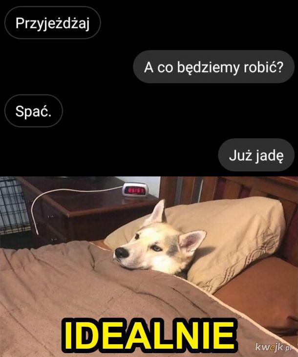 Spanko? Zawsze.