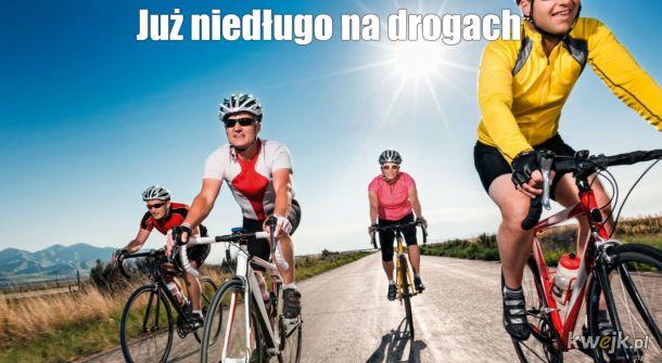 Rowerzyści się szykują