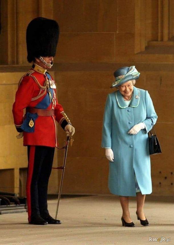 Filip prankujący królową. Taki był