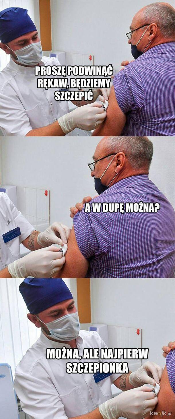 Szczepienie później