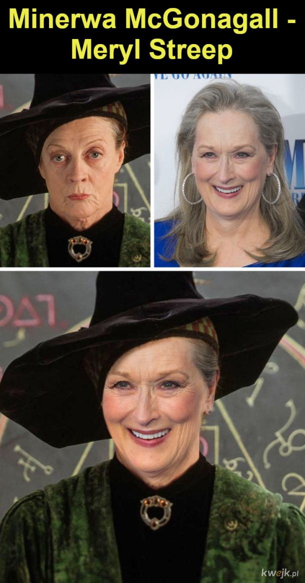 """Jak wyglądaliby bohaterowie """"Harry'ego Pottera"""", gdyby film był kręcony w Hollywood, obrazek 17"""