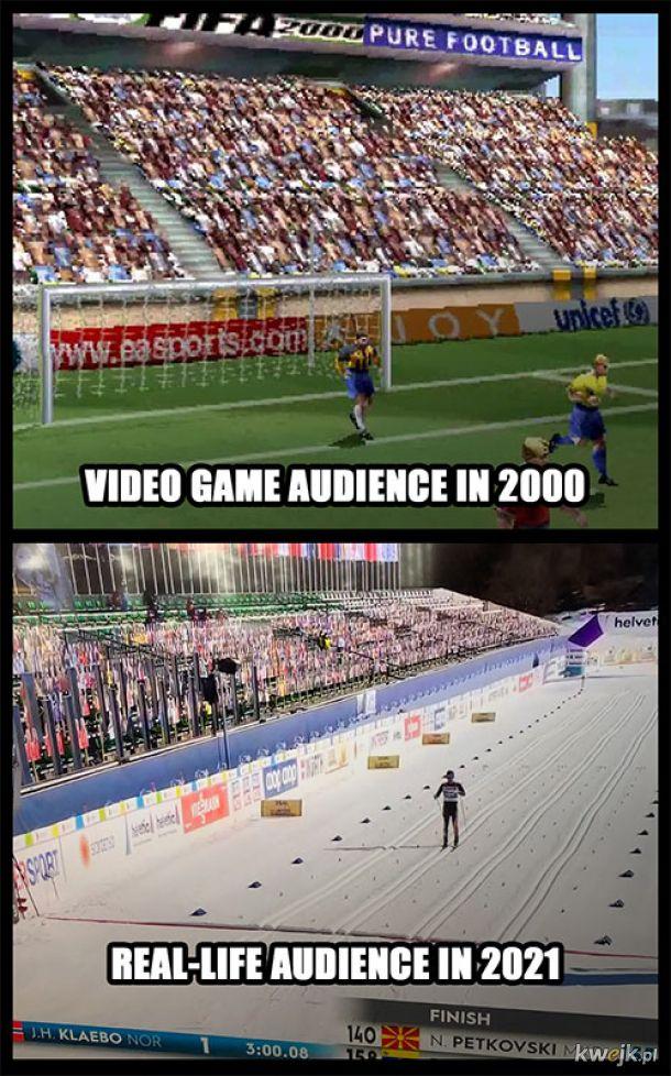 Rzeczywistość dogoniła jakość gier
