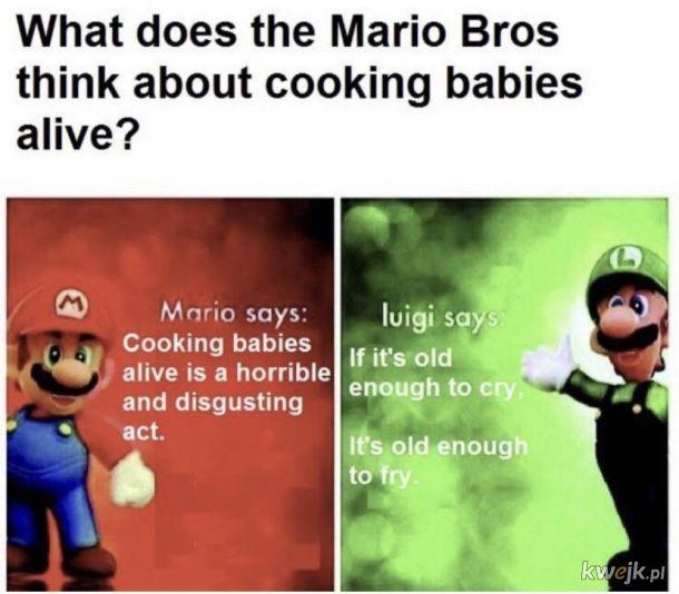 Luigi jak zwykle z RiGCzem